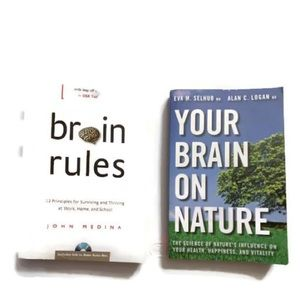 2 books: Brain Rules, Your Brain on Nature.